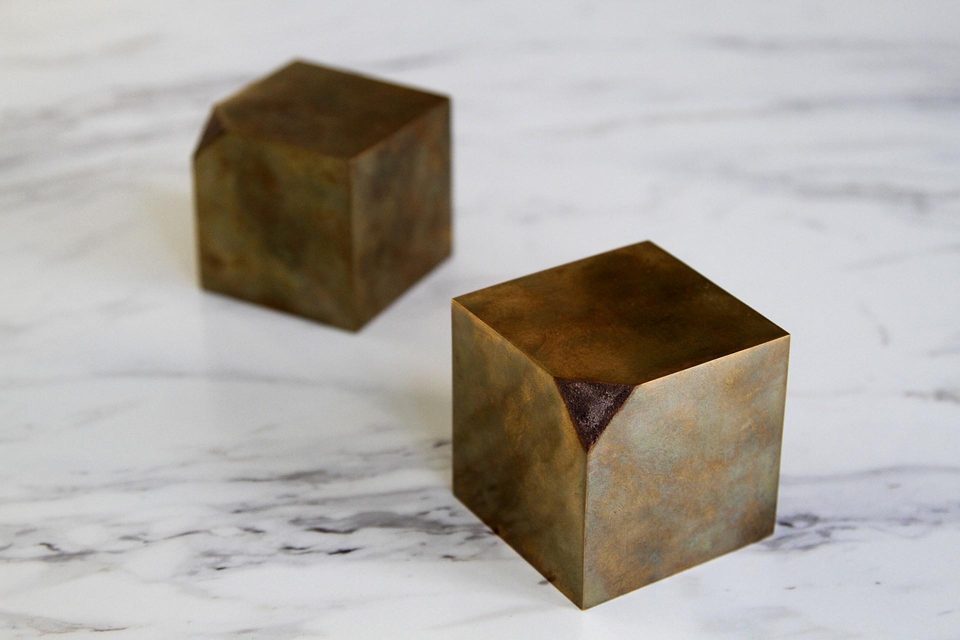Joseph Magliaro Cut Cube
