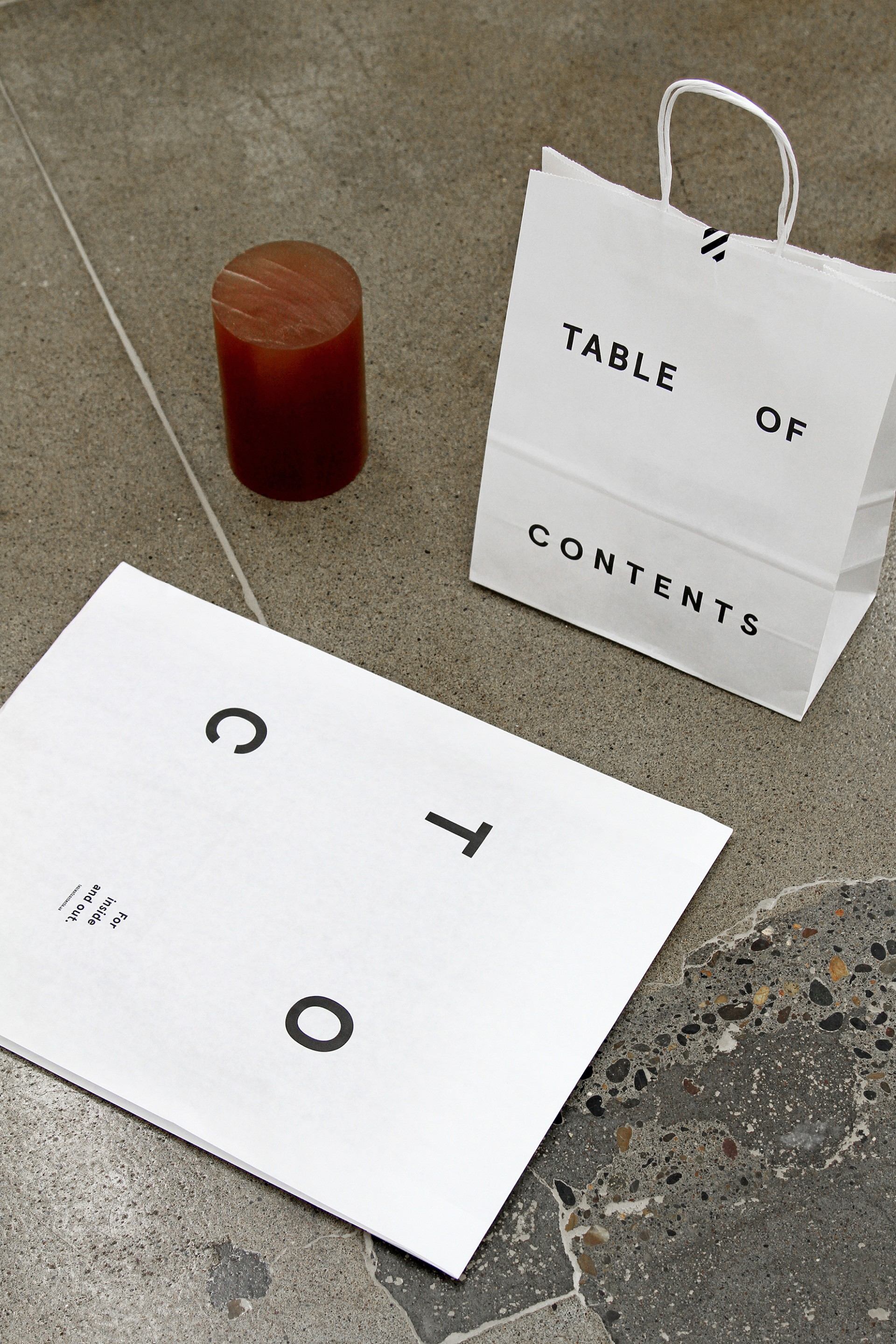 Joseph Magliaro Table of Contents Branding