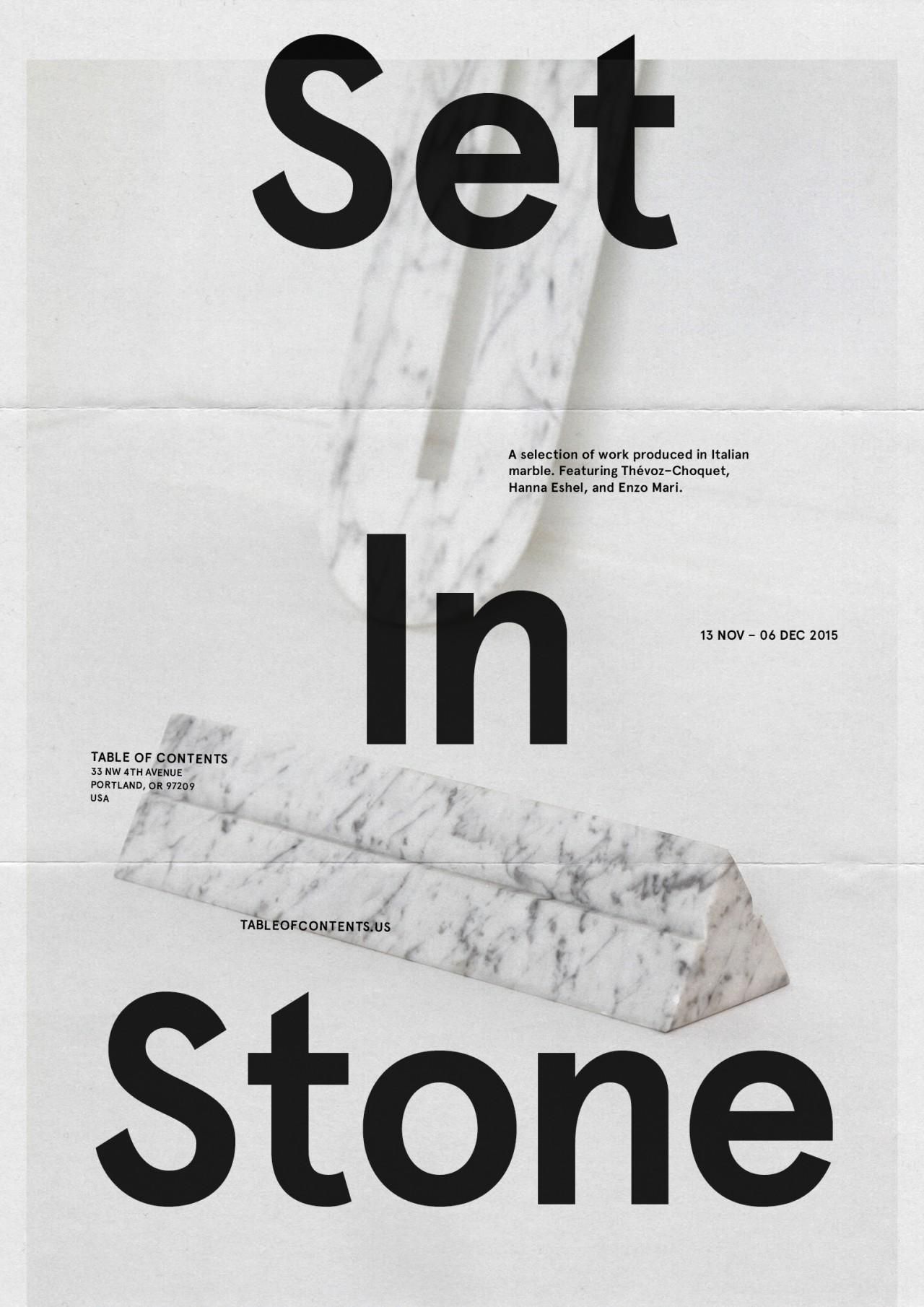 Joseph Magliaro Set In Stone